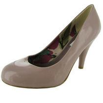Steve Madden Womens Halliee Classic Pump Shoe Blush Patent Us 9 Photo