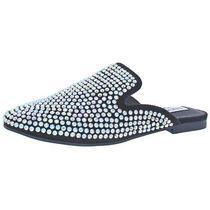Steve Madden Womens Hugh-R Black Loafer Mule Shoes 5 Medium (Bm) Bhfo 5433 Photo