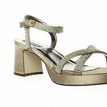 Steve Madden Womens Jclassy Blush Ankle Strap Heels Size 7 (1477777) Photo