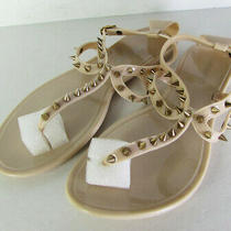 Steve Madden Womens Jelybely Toe Post Flat Sandal Shoes Blush Us 8 Photo