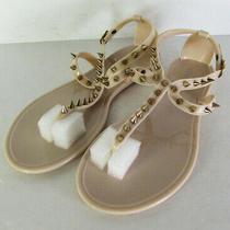 Steve Madden Womens Jelybely Toe Post Flat Sandal Shoes Blush Us 7 Photo