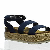 Steve Madden Womens Kimmie Navy Espadrilles Size 9 (977874) Photo