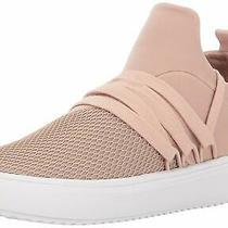 Steve Madden Womens Lancer Fabric Low Top Lace Up Fashion Blush Size 9.5 Fnmh Photo