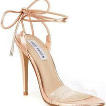 Steve Madden Womens Lyla Open Toe Special Occasion Ankle Rose Gold Size 6.5 5f Photo
