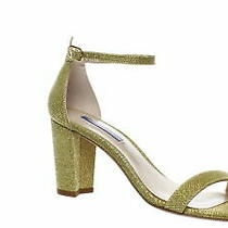 Steve Madden Womens Nearly Nude Ankle Strap Heels Size 9.5 (Aa n) (996118) Photo