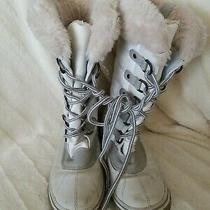 Steve Madden  Womens Snow Boots  Size 7 Faux Fur Photo