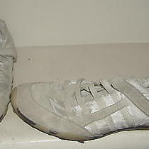 Steve Madden Womens White Athletic-Inspired Shoes 10 M Photo