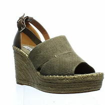 Steve Madden Womens Wilkes Taupe Suede Espadrilles Size 9 (1164991) Photo