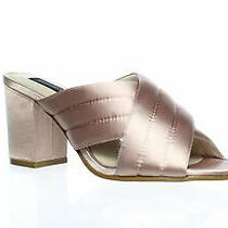Steve Madden Womens Zada Blush Satin Sandals Size 8 (847709) Photo