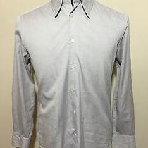 Steven Alan Grey Shirt - Large - Made Usa - Mother of Pearl Buttons - Cotton Photo