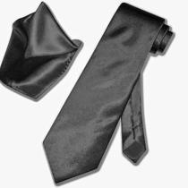 Steven Black  Formal  Necktie and Pocket Square Set Photo