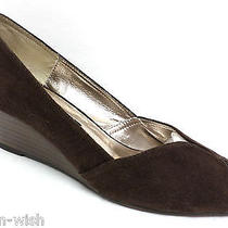 Steven by Steve Madden 'Bamba' Brown Wedges Size 7 Shoes Photo