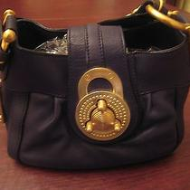 Steven by Steve Madden Black Leather Satchel Bag Photo