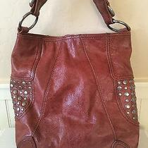 Steven by Steve Madden Brown Leather Tote Style Bag  Photo