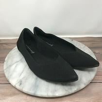 Steven by Steve Madden Rosy Black Stretch Knit Pointed Toe Flats Womens Size 8 Photo