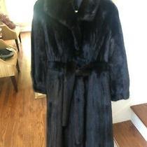 Steven Corn Furs  Ranch Male Mink Coat Size 8-10  Vintage Appraised Photo
