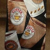 Steven Harris Coffee Cup  Silk Tie Photo
