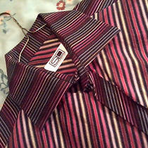 Steven Land Long Sleeve Shirt New Medium/32-33 French Cuffs W/ Links and Tabs Photo