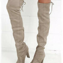 Steven Madden Gorgeous Boots in Taupe Nwob Size 9 Photo