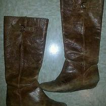 Steven Madden Intyce Cognac Boot Size 8 Photo