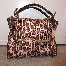 Steven Nylon Animal Print Handbag Photo