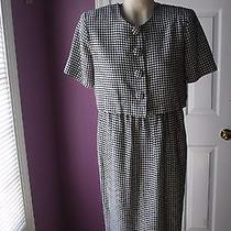 Steven Stolman Dress Vintage Jackie O Style  Size 10   Nice  Photo