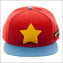 Steven Universe Star Logo Red Blue Snapback Hat Baseball Cap Licensed Official Photo