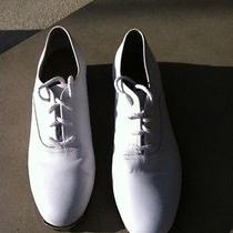 Stevens Stompers Children 7.5 White Clogging Shoes Photo