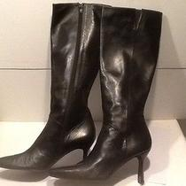 Stewart Weitzman Leather Boots From Adult Film Star Exotic Dancer Stripper Boots Photo