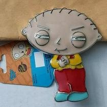 Stewie Griffin Family Guy Belt Buckle Nwt Photo