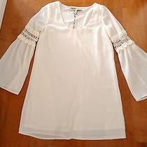 Stone Cold Fox by Ninas Off White Lace Mini Dress Small Urban Outfitters Nwt  Photo