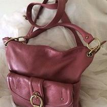 Stone Mountain Butter Soft Leather Shoulder Bag Pink / Sunset Blush Brass Acces Photo