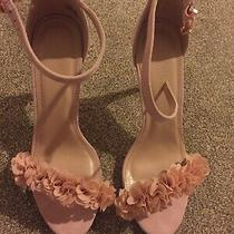 Strap Heels New in Box Size 9 1/2 Blush Color  Photo