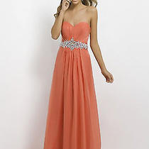 Strapless Blush Prom Dress Photo