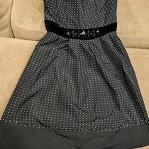 Strapless Cocktail Dress Bcbg Maxazria Polka Dot New Mint Condition Size 8 Photo
