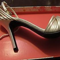 Strappy Wedding Shoes Chinese Laundry Size 8 Photo