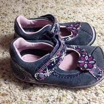 Stride Rite Kid's Sandal Shoes Gray/pink Size  6.5m. Ked Photo
