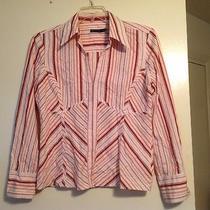 Striped Cotton Shirt Photo