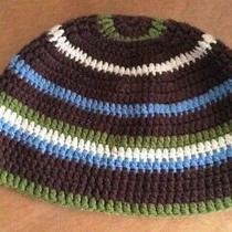Striped Fossil Beanie One Size Fits All Photo