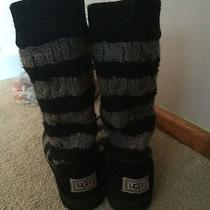 Striped Knit Uggs Size 7 Photo