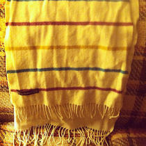 Striped Lambs Wool Scarf Photo