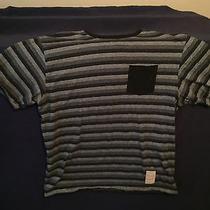 Striped Nixon Watches T-Shirt Size L Photo