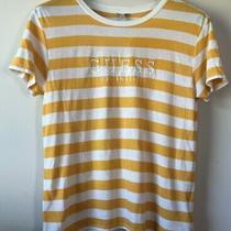 Striped Yellow Guess Shirt Size Small Photo