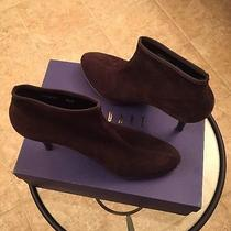 Stuart Weitzam Suede Anklesock Boot Photo