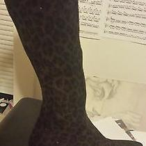 Stuart Weitzman Animal Print Boots Sz 5.5 Photo