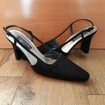 Stuart Weitzman Black Slingback Heels Photo