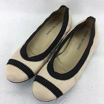 Stuart Weitzman Blush Leather Ballet Flat Size 9.5m Rh10569 Photo