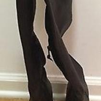 Stuart Weitzman Brown Leather/suede Cuff Boots Size 8 Photo