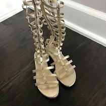 Stuart Weitzman Gladiator Sandals Size 8 Photo