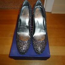 Stuart Weitzman Glitterswoon 7.5m Wedding or Holiday Shoe Photo